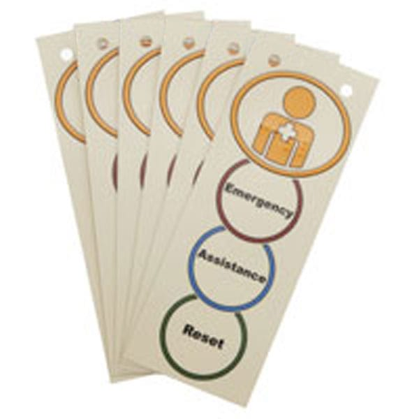 08 Hospital labels (Pack of 6)