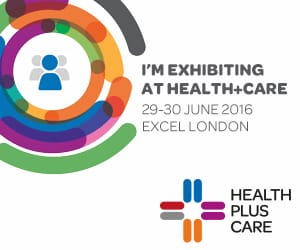 I'm exhibiting at the Health+ Care show