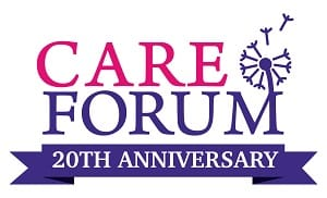 Courtney Thorne attending Care Forum in Reading