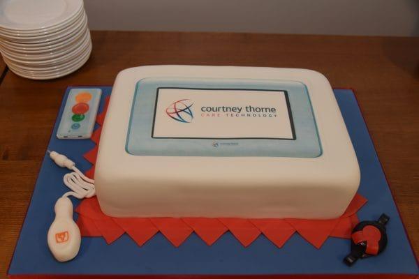 Courtney Thorne - Altra Nurse call Cake