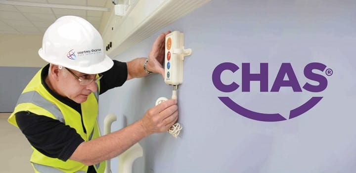 Courtney Thorne has been awarded CHAS Accreditation